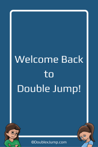 Welcome Back to Double Jump | Video Games | Bloggers | DoublexJump.com