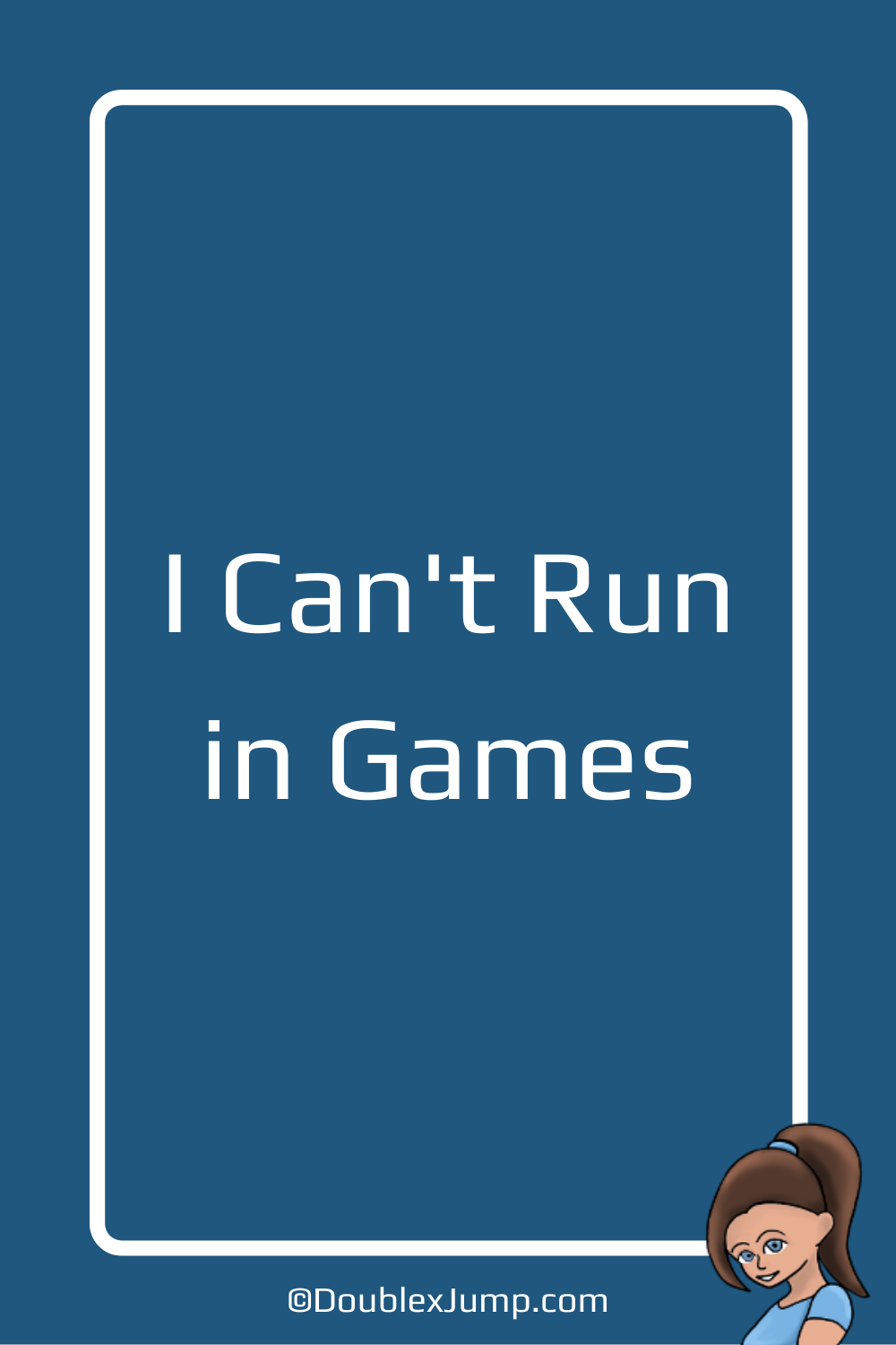 I Can't Run in Games | Video Games | Gaming Blog | Nintendo | DoublexJump.com
