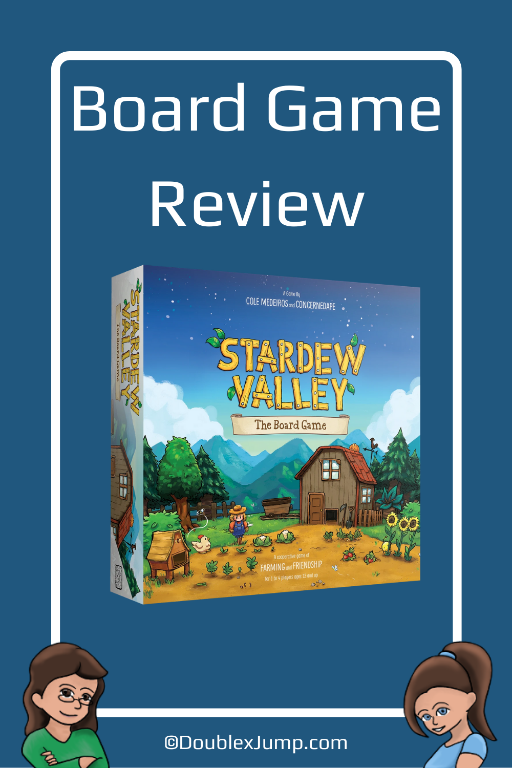 Stardew Valley: The Board Game | Review | Board Game Review | Stardew Valley | Gaming | DoublexJump.com
